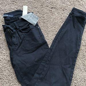 Mid rise navy blue Zara denim jeans